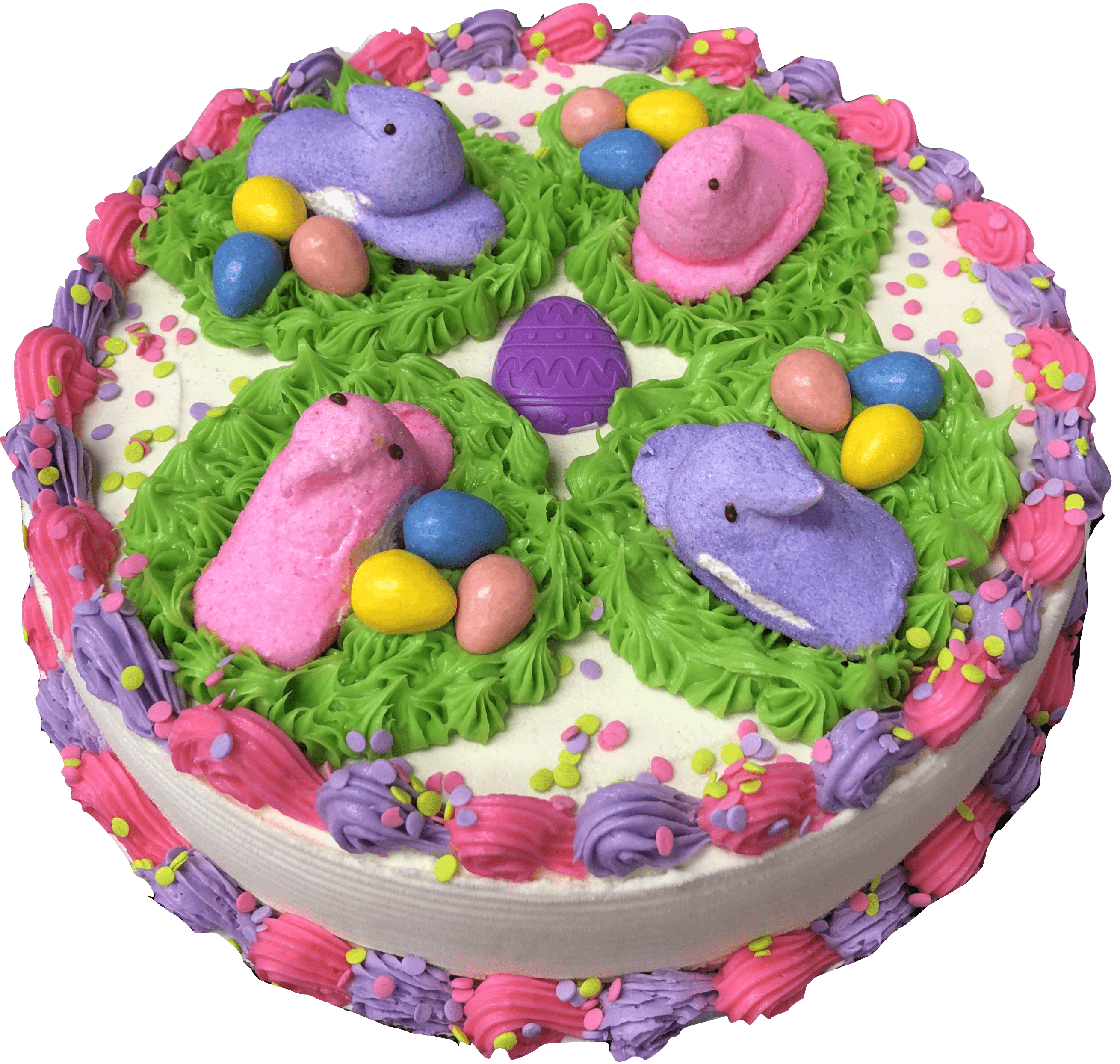 Compressed Easter Cake 16